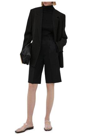 Женские шерстяные шорты MAISON MARGIELA черного цвета, арт. S51MU0056/S53700 | Фото 2