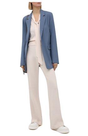 Женский шерстяной пуловер ZIMMERMANN кремвого цвета, арт. 9981TRB0T | Фото 2
