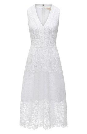 Женское платье MICHAEL MICHAEL KORS белого цвета, арт. MS1803Y1D0 | Фото 1