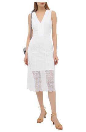 Женское платье MICHAEL MICHAEL KORS белого цвета, арт. MS1803Y1D0 | Фото 2
