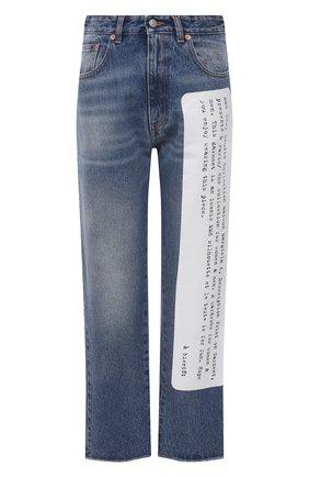 Женские джинсы MM6 синего цвета, арт. S62LB0052/S30589 | Фото 1