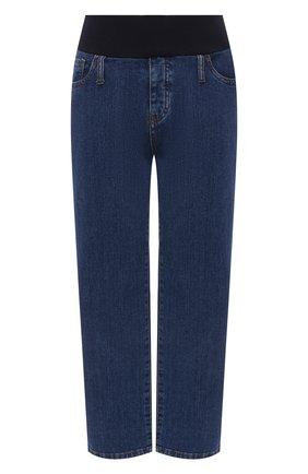 Женские джинсы PIETRO BRUNELLI синего цвета, арт. JPL00S/DEC096 | Фото 1