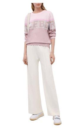Женский пуловер ICEBERG светло-розового цвета, арт. 21E I2P0/A007/7296 | Фото 2