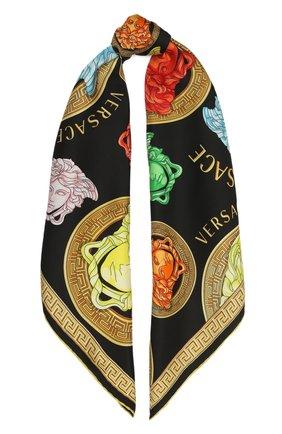 Женский шелковый платок VERSACE разноцветного цвета, арт. IF09001/1F01333 | Фото 1