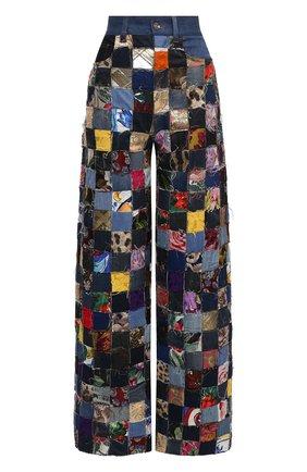 Женские джинсы DOLCE & GABBANA разноцветного цвета, арт. FTB2EZ/GD0T3   Фото 1