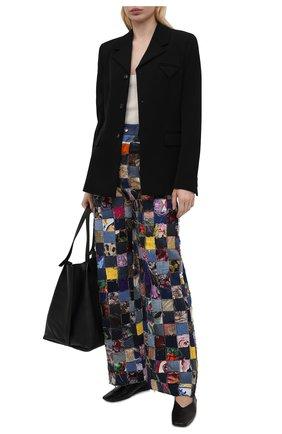 Женские джинсы DOLCE & GABBANA разноцветного цвета, арт. FTB2EZ/GD0T3   Фото 2