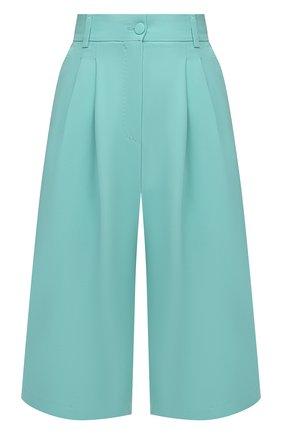 Женские шорты DOLCE & GABBANA светло-зеленого цвета, арт. FTB11T/FURDV | Фото 1