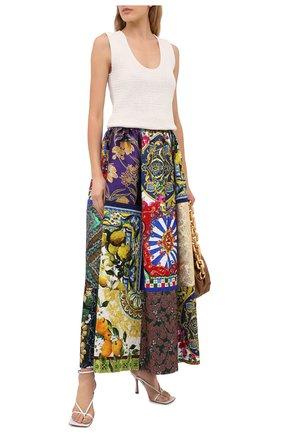 Женская юбка DOLCE & GABBANA разноцветного цвета, арт. F4B10T/GDX74 | Фото 2