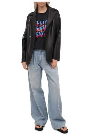Женские джинсы R13 голубого цвета, арт. R13W3147-897A   Фото 2