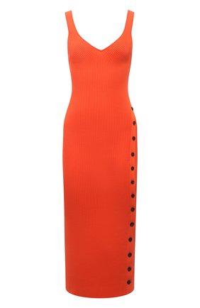 Женское платье SELF-PORTRAIT оранжевого цвета, арт. SS21-090   Фото 1