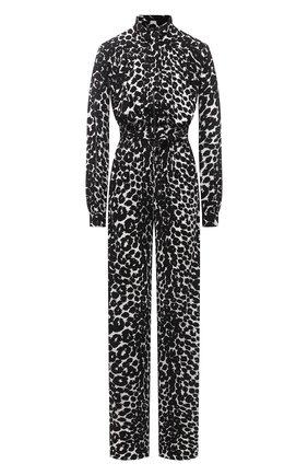 Женский комбинезон из вискозы TOM FORD черно-белого цвета, арт. TUJ097-FAP116 | Фото 1