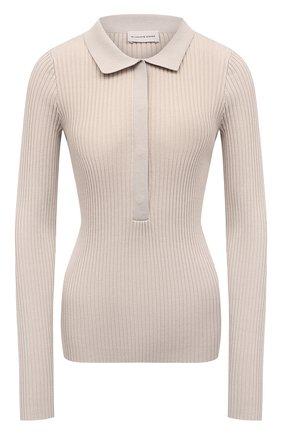 Женский пуловер BY MALENE BIRGER бежевого цвета, арт. Q70017005/FLALIA   Фото 1