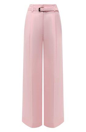 Женские брюки из вискозы и льна PROENZA SCHOULER розового цвета, арт. R2126002-AY133 | Фото 1
