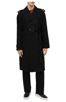 Мужские кожаные слипоны conley zip GIUSEPPE ZANOTTI DESIGN черного цвета, арт. EU00063/011 | Фото 2