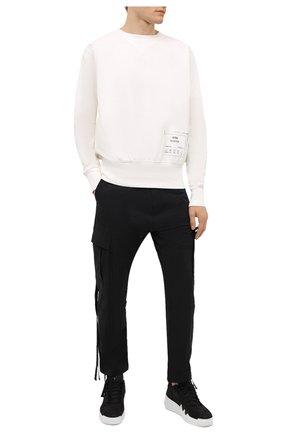 Мужские кожаные кроссовки talon GIUSEPPE ZANOTTI DESIGN черного цвета, арт. RM10005/002 | Фото 2