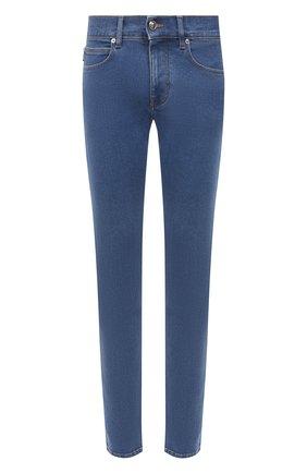 Мужские джинсы VERSACE синего цвета, арт. A81832/1F01111 | Фото 1