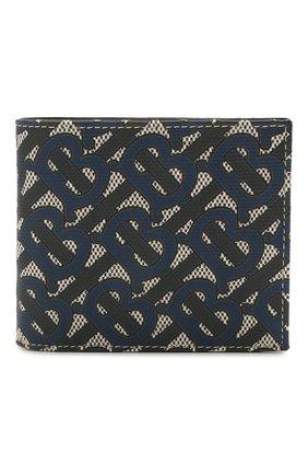 Мужской портмоне BURBERRY темно-синего цвета, арт. 8040282 | Фото 1
