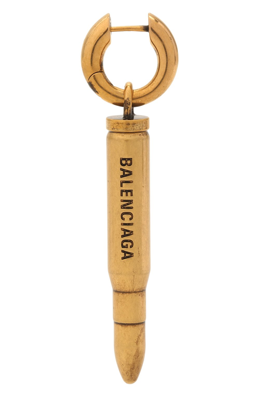 Женские моносерьга BALENCIAGA золотого цвета, арт. 655728/TZ91J | Фото 1