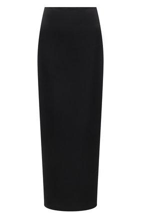 Женская юбка KALMANOVICH черного цвета, арт. SS21K19 | Фото 1