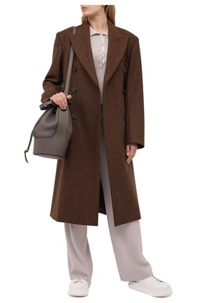 Женский пуловер из вискозы FREEAGE бежевого цвета, арт. W22.JM012.7080.103 | Фото 2
