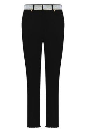 Женские джинсы ALEXANDRE VAUTHIER черного цвета, арт. 211PA1402C 1420C-211 | Фото 1
