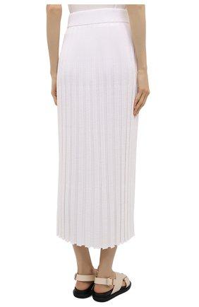 Женская юбка из вискозы JOSEPH белого цвета, арт. JF005331 | Фото 4