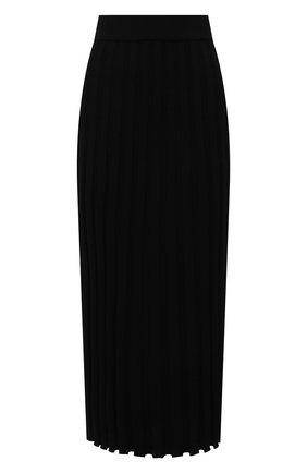 Женская юбка из вискозы JOSEPH черного цвета, арт. JF005331 | Фото 1