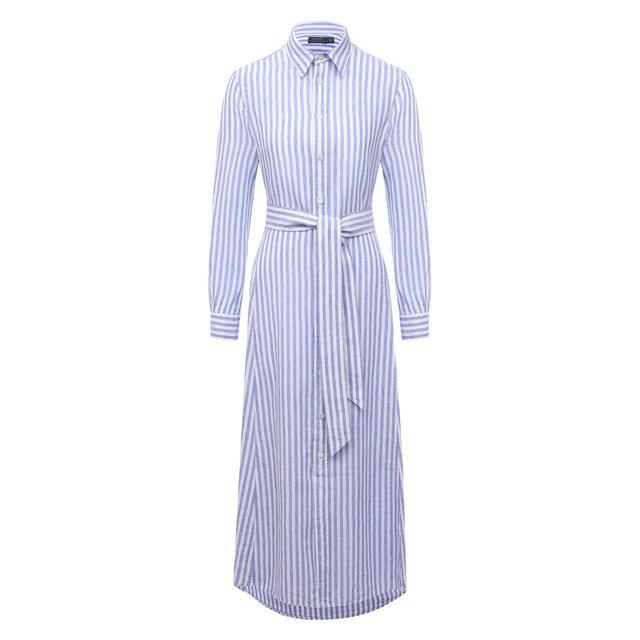 Льняное платье Polo Ralph Lauren