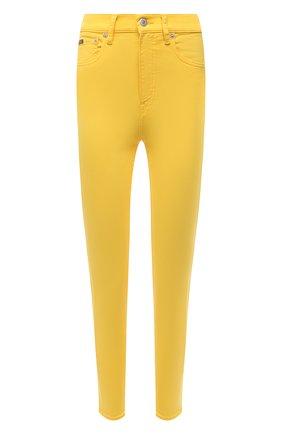 Женские джинсы POLO RALPH LAUREN желтого цвета, арт. 211834011   Фото 1