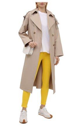 Женские джинсы POLO RALPH LAUREN желтого цвета, арт. 211834011 | Фото 2