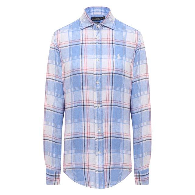 Льняная рубашка Polo Ralph Lauren