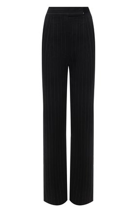Женские хлопковые брюки ALEXANDER WANG черного цвета, арт. 1WC2214340   Фото 1
