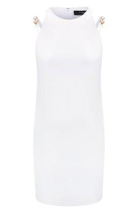 Женское платье из вискозы VERSACE белого цвета, арт. A89133/A208429 | Фото 1