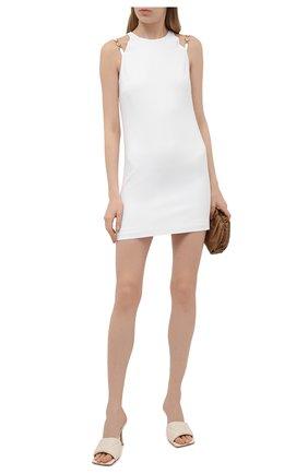 Женское платье из вискозы VERSACE белого цвета, арт. A89133/A208429 | Фото 2