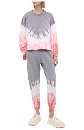 Женские хлопковые джоггеры ELECTRIC&ROSE разноцветного цвета, арт. LFBT17-M0MENTUM | Фото 2