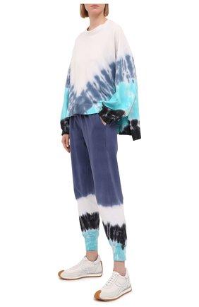 Женский хлопковый свитшот ELECTRIC&ROSE разноцветного цвета, арт. LFCV06-M0MENTUM | Фото 2 (Длина (для топов): Стандартные; Рукава: Длинные; Материал внешний: Хлопок; Стили: Спорт-шик; Женское Кросс-КТ: Свитшот-одежда)