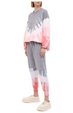 Женский хлопковый свитшот ELECTRIC&ROSE разноцветного цвета, арт. LFCV06-M0MENTUM   Фото 2 (Рукава: Длинные; Материал внешний: Хлопок; Длина (для топов): Стандартные; Стили: Спорт-шик; Женское Кросс-КТ: Свитшот-одежда)
