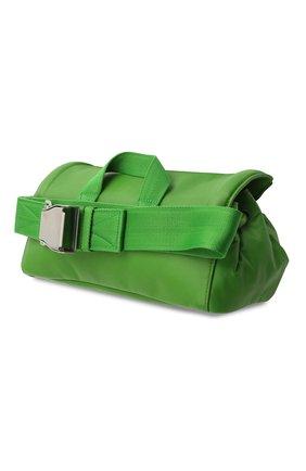 Женская поясная сумка beak BOTTEGA VENETA зеленого цвета, арт. 659419/VA9VD | Фото 3