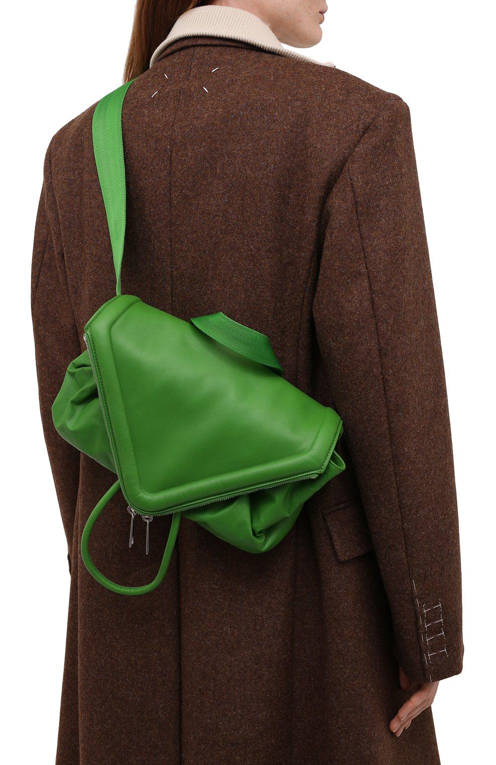 Женская поясная сумка beak BOTTEGA VENETA зеленого цвета, арт. 659419/VA9VD | Фото 5
