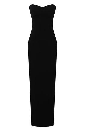 Женское платье MONOT черного цвета, арт. PF2021DR07 | Фото 1