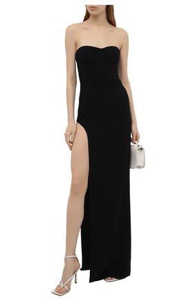 Женское платье MONOT черного цвета, арт. PF2021DR07 | Фото 2