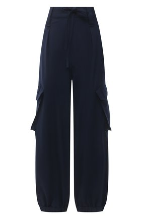 Женские брюки Y-3 синего цвета, арт. GV2795/W | Фото 1