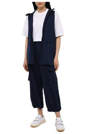 Женские брюки Y-3 синего цвета, арт. GV2795/W | Фото 2