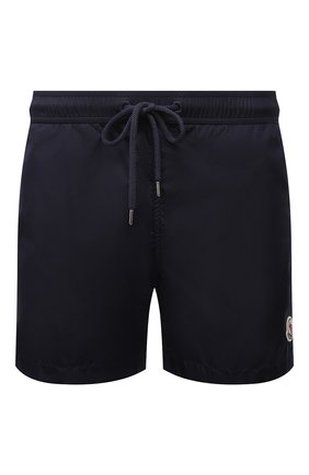 Мужские плавки-шорты MONCLER темно-синего цвета, арт. G1-091-2C708-00-53326 | Фото 1
