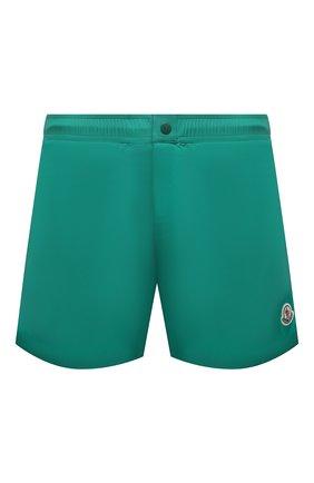 Мужские плавки-шорты MONCLER зеленого цвета, арт. G1-091-2C707-00-53326 | Фото 1