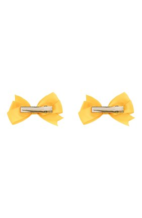 Детская комплект из двух заколок JUNEFEE желтого цвета, арт. 6335 | Фото 2