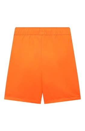 Детские плавки-шорты KARL LAGERFELD KIDS оранжевого цвета, арт. Z20055   Фото 2