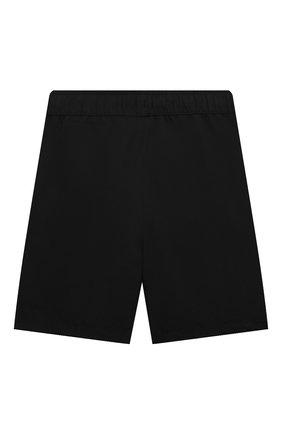 Детские плавки-шорты KARL LAGERFELD KIDS черного цвета, арт. Z20055   Фото 2