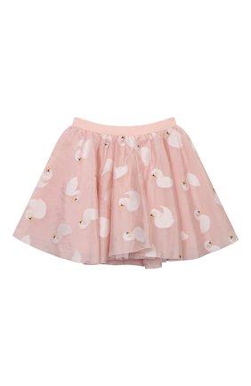 Детская юбка CHARABIA розового цвета, арт. S13024   Фото 1