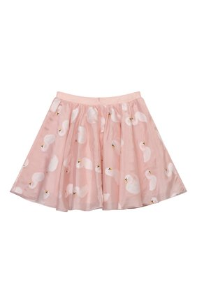 Детская юбка CHARABIA розового цвета, арт. S13024   Фото 2